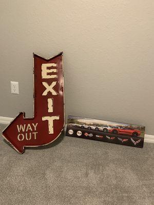 Hobby Lobby Car Themed Wall Art - BARLEY USED for Sale in Orlando, FL
