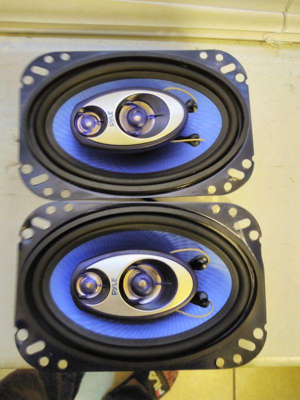 Pyle 4 by 6 speakers