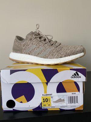 """Men's Adidas PureBOOST """"Khaki"""" Size 10.5 for Sale in Bartlett, IL"""