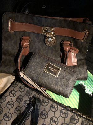 Mk bag and wallet for Sale in West Springfield, VA