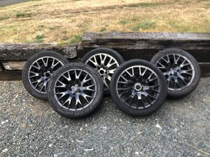 Audi aftermarket rims w tires for Sale in Marysville, WA