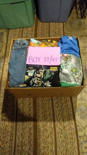 Boys clothes ( size 3t/4t )50+ pieces for Sale in Riverside, CA