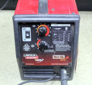 LINCOLN ELECTRIC WELD PAK 100HD WIRE FEED WELDER. for Sale in Sunrise, FL