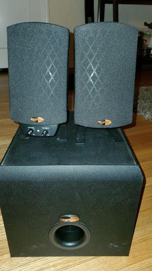 Klipsch Pro Media 2.1 computer speakers for Sale in Alhambra, CA