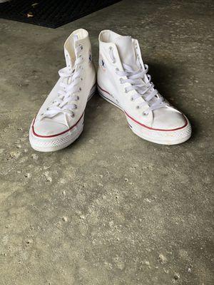 White Converse Chuck Taylor for Sale in Dearborn, MI