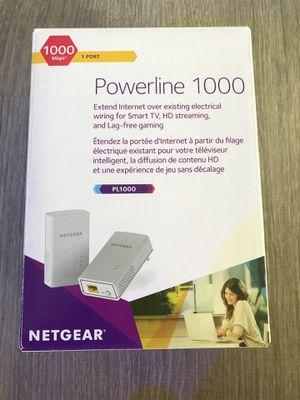 NETGEAR - Powerline 1000 Network Extender for Sale in North Miami, FL