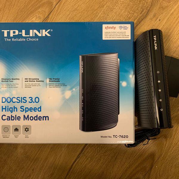 Cable Modem Docsis 3.0 16x4 680mbps TP-Link