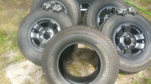 Toyota rims and tires 265 70 16 for Sale in Norfolk, VA