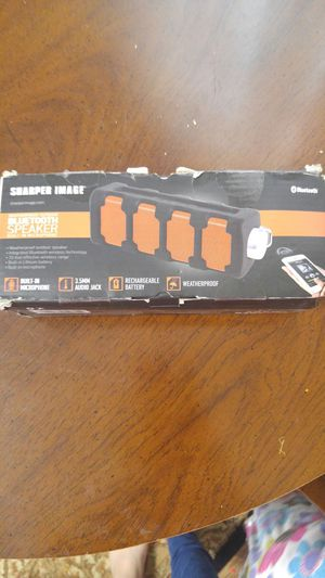 Sharper Image Bluetooth Speaker for Sale in Carnegie, PA