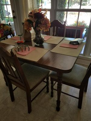 Kitchen Table with 6 Chairs for Sale in Mocksville, NC