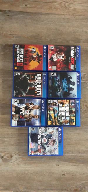 PS4 Games for Sale in Grottoes, VA