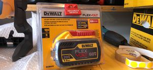 FLEXVOLT 20-Volt /60-Volt MAX Lithium-Ion 9.0 Ah Battery Pack for Sale in Raleigh, NC