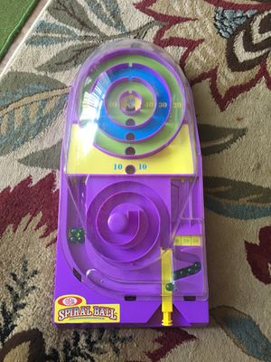 Spiral ball marble game for kids for Sale in Bellevue, WA