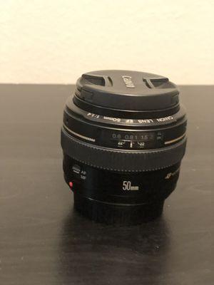 Canon 50mm 1.4 lens for Sale in Murfreesboro, TN
