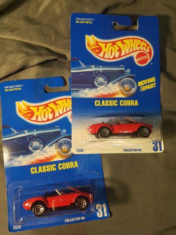 Hot Wheels Classic Cobra