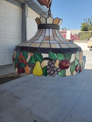 Stained glass chandelier for Sale in Phoenix, AZ
