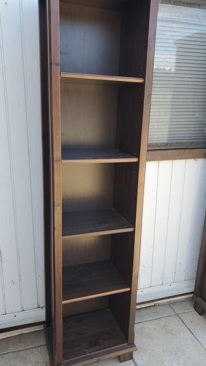 Solid wood bookshelves for Sale in Escondido, CA
