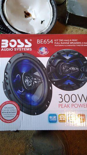 Boss Audio 6 1/2 4 way speakers for Sale in Nitro, WV