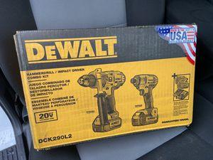 Dewalt DCK290L2 Kit for Sale in Ellicott City, MD
