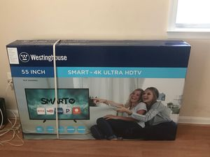 55 inch smart tv 4K hbd for Sale in Washington, DC