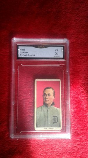 Used, t206 Ty Cobb Portrait Reprint red for Sale for sale  Fredericksburg, TX