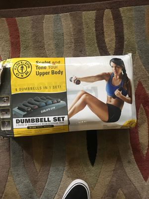 Dumbbell set for Sale in Boothwyn, PA
