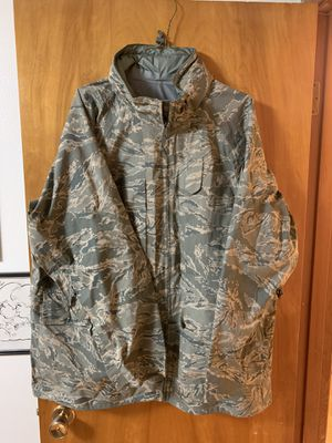 Military Barrier Wear All-Purpose Parka Environmental Camouflage Jacket XX-Large Long for Sale in Fircrest, WA