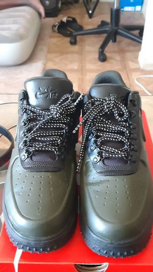 9.5 Dark Green Nike Af1 Combat Shoes for Sale in Dallas, TX
