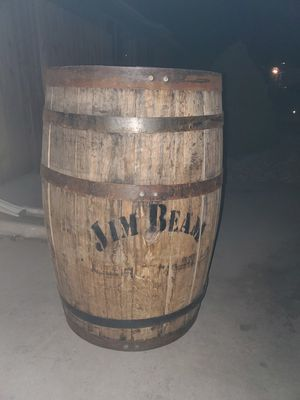Jim Beam whiskey barrel for Sale in Fort Lupton, CO