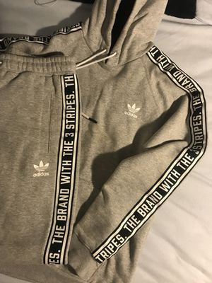 Adidas - Stars and Stripes - Hoodie & Sweats Jumpsuit Grey Size Large for Sale in Randolph, MA