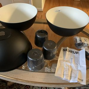 """3 Pendant Lamps 38cm 15"""" with the Hemma cord for Sale in Vienna, VA"""