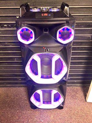 Bluetooth speaker 🔊 karaoke 🎤 for Sale in Fort Belvoir, VA