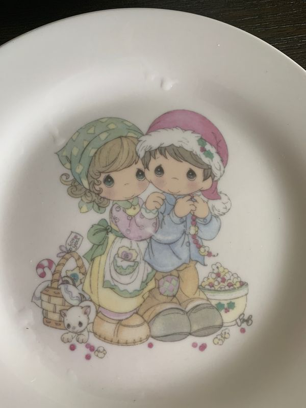 Precious moments plates