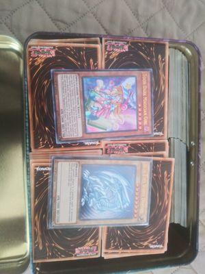 Tin full of bulk yugioh cards for Sale in El Cajon, CA