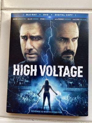 High Voltage Blu ray+dvd+digital copy for Sale in Hallandale Beach, FL