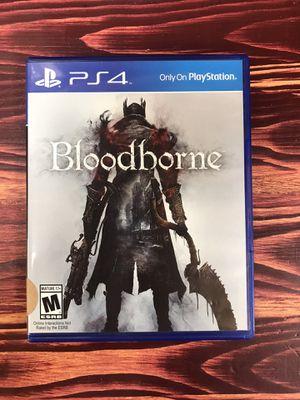 PS4 Bloodborne for Sale in Chicago, IL