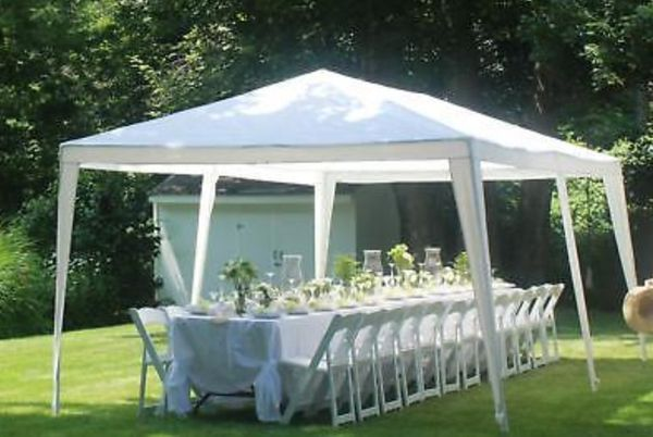 Outdoor Gazebo Canopy Wedding Party Tent 10' x 20' Shelter 6 Removable Window Walls