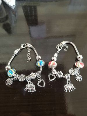 Cute elephant charm bracelets $12.99 each for Sale in Lincoln Acres, CA