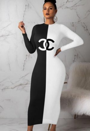 Black and white bodycon dress for Sale in Savage, MD