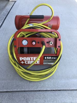 Porter Cable 150psi air compressor for Sale in Lee's Summit, MO