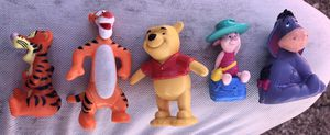 Vintage toys Winnie Pooh figures for Sale in Dallas, TX
