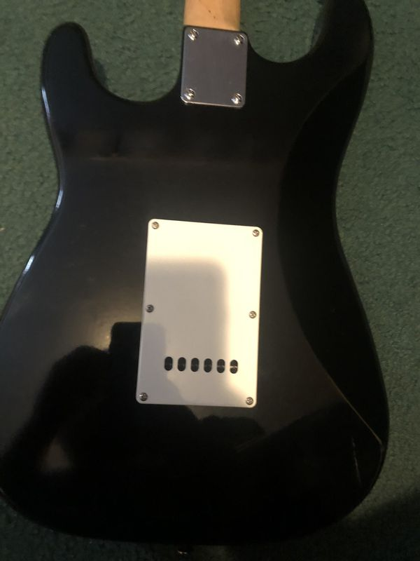 Jay Turser electric guitar, with extras