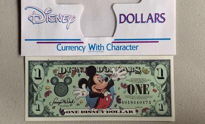 Lot Of Disney Dollars N Extras for Sale in San Dimas,  CA