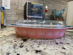 Pink Pyrex daisy for Sale in Lakewood, CA