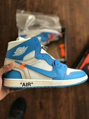 Air Jordan 1 x Off White University Blue for Sale in Warminster, PA