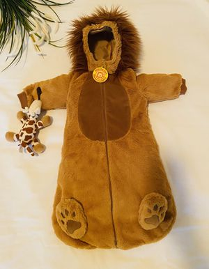 Adorable Baby Lion Cub Costume/Romper!!! Make Your Little One's First Holloween a Hit & most memorable!! Cute Little King!!! 😊 for Sale in Irving, TX