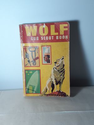 Wolf Cub Scout Book Boy Scouts of America. 1972 print. for Sale in San Antonio, TX