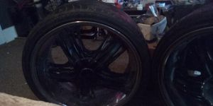 4 used tires and rims for Sale in Lake Charles, LA