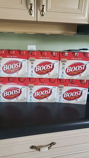 Boost nutritional drink very vanilla for Sale in Miramar, FL