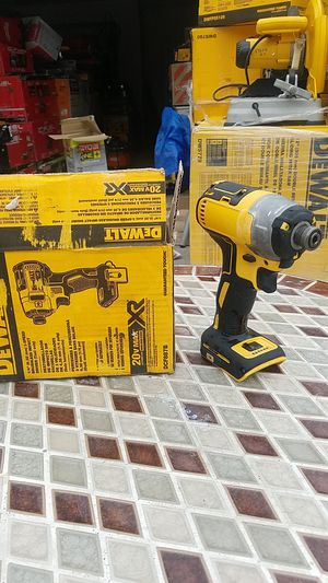 DeWalt .1/4in 3-speed brushless impact driver tool only 20-volt Max XR model dcf887b box number d 10 for Sale in Covina, CA